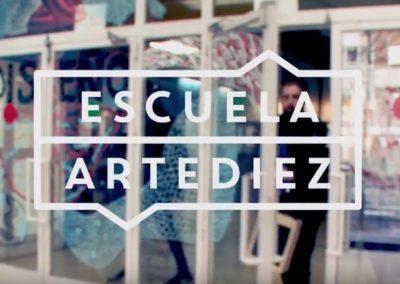Audio para video promo Escuela ArteDiez