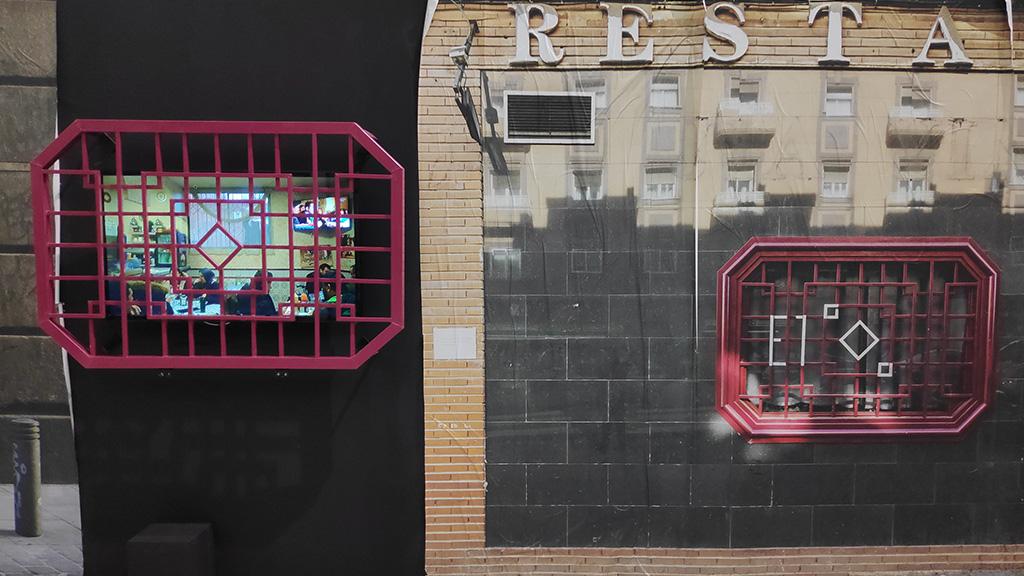 Interacción en urban art para e1000. CEART